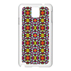 Pattern 28 Samsung Galaxy Note 3 N9005 Case (white)