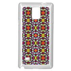 Pattern 28 Samsung Galaxy Note 4 Case (white)