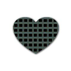 Pattern 29 Rubber Coaster (heart)