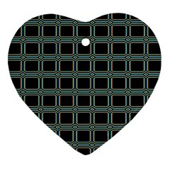 Pattern 29 Heart Ornament (two Sides)