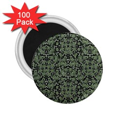 Camouflage Ornate Pattern 2 25  Magnets (100 Pack)
