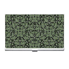 Camouflage Ornate Pattern Business Card Holders