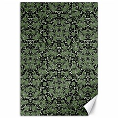 Camouflage Ornate Pattern Canvas 12  X 18