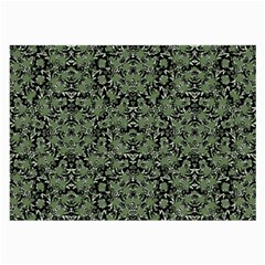 Camouflage Ornate Pattern Large Glasses Cloth