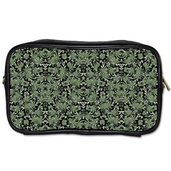 Camouflage Ornate Pattern Toiletries Bags