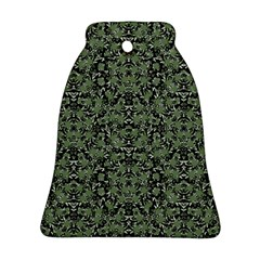 Camouflage Ornate Pattern Ornament (bell)