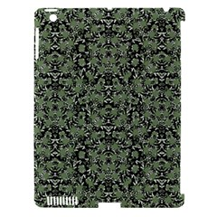 Camouflage Ornate Pattern Apple Ipad 3/4 Hardshell Case (compatible With Smart Cover)