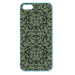 Camouflage Ornate Pattern Apple Seamless Iphone 5 Case (color)