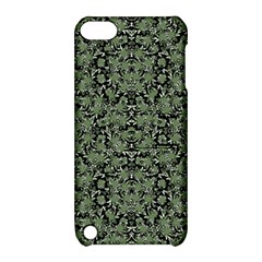 Camouflage Ornate Pattern Apple Ipod Touch 5 Hardshell Case With Stand