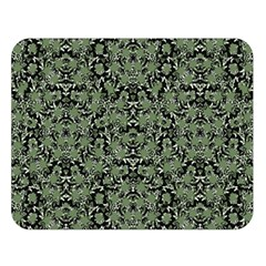 Camouflage Ornate Pattern Double Sided Flano Blanket (large)