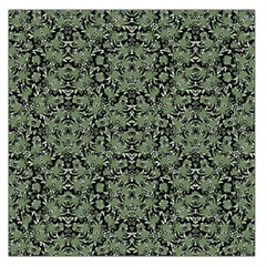 Camouflage Ornate Pattern Large Satin Scarf (square)