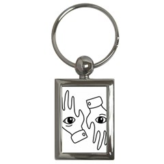 Hands Key Chains (rectangle)