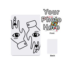 Hands Playing Cards 54 (mini)