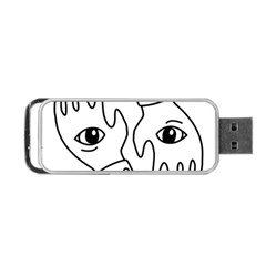 Hands Portable Usb Flash (one Side)
