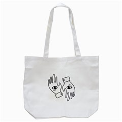 Hands Tote Bag (white)