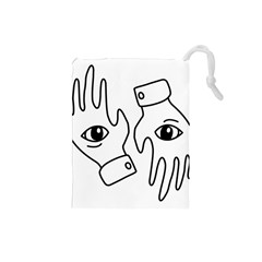 Hands Drawstring Pouches (small)