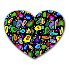 Artwork By Patrick Pattern 30 Heart Mousepads