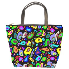 Artwork By Patrick Pattern 30 Bucket Bags