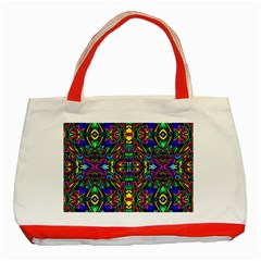 Artwork By Patrick Pattern 31 Classic Tote Bag (red)