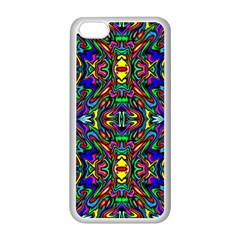 Artwork By Patrick Pattern 31 Apple Iphone 5c Seamless Case (white)