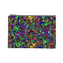 Artwork By Patrick Pattern 31 1 Cosmetic Bag (large)