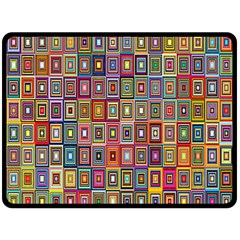 Artwork By Patrick Pattern 33 Fleece Blanket (large)