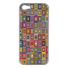 Artwork By Patrick Pattern 33 Apple Iphone 5 Case (silver)