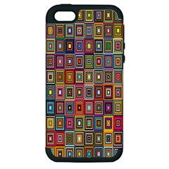 Artwork By Patrick Pattern 33 Apple Iphone 5 Hardshell Case (pc+silicone)