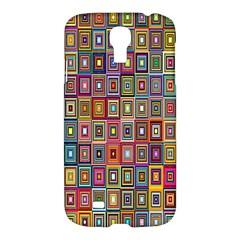 Artwork By Patrick Pattern 33 Samsung Galaxy S4 I9500/i9505 Hardshell Case