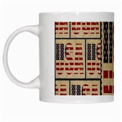 Usa White Mugs