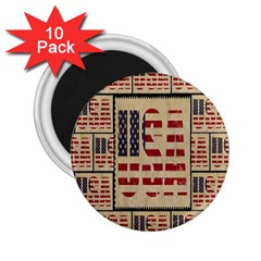 Usa 2 25  Magnets (10 Pack)