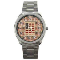 Usa Sport Metal Watch