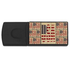 Usa Rectangular Usb Flash Drive