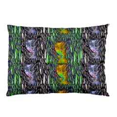 May Be A Woman In Manga Fire Pillow Case (two Sides)