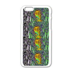 May Be A Woman In Manga Fire Apple Iphone 6/6s White Enamel Case