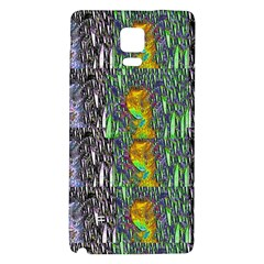 May Be A Woman In Manga Fire Galaxy Note 4 Back Case