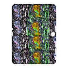 May Be A Woman In Manga Fire Samsung Galaxy Tab 4 (10 1 ) Hardshell Case