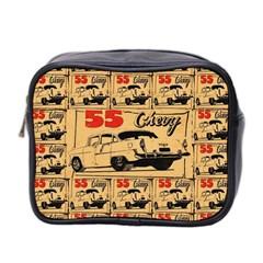 55 Chevy Mini Toiletries Bag 2 Side