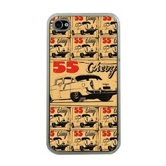 55 Chevy Apple Iphone 4 Case (clear)