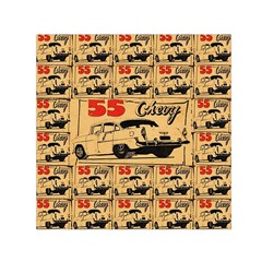 55 Chevy Small Satin Scarf (square)
