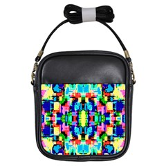 Artwork By Patrick  Colorful 1 Girls Sling Bags