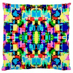 Artwork By Patrick  Colorful 1 Large Flano Cushion Case (one Side)