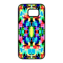 Artwork By Patrick  Colorful 1 Samsung Galaxy S7 Edge Black Seamless Case
