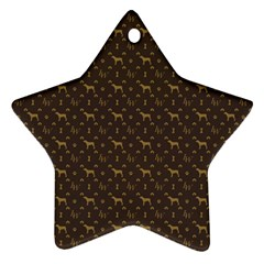 Louis Weim Luxury Dog Attire Ornament (star)