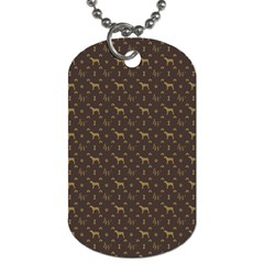 Louis Weim Luxury Dog Attire Dog Tag (one Side)