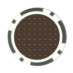 Louis Weim Luxury Dog Attire Poker Chip Card Guard