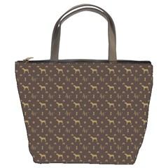 Louis Weim Luxury Dog Attire Bucket Bags