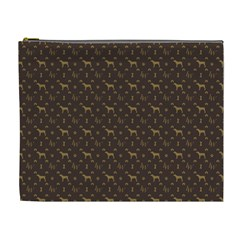 Louis Weim Luxury Dog Attire Cosmetic Bag (xl)