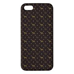 Louis Weim Luxury Dog Attire Iphone 5s/ Se Premium Hardshell Case