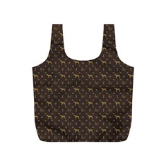 Louis Weim Luxury Dog Attire Full Print Recycle Bags (s)